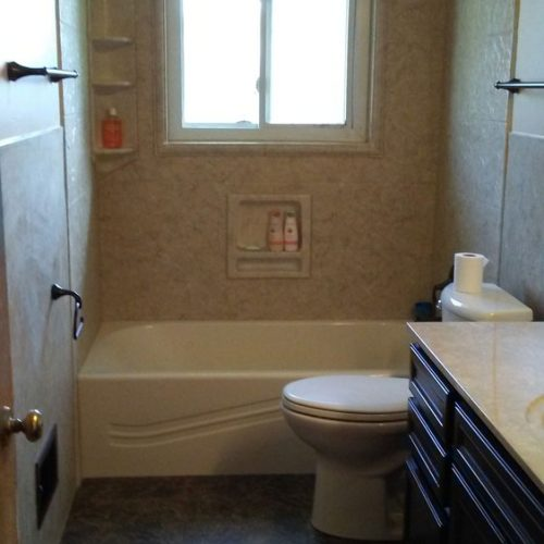 Bathtub - Before